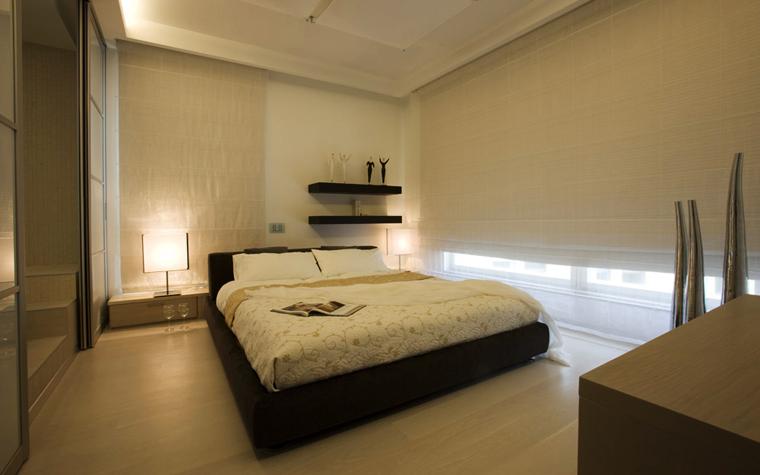 интерьер спальни - фото № 5006