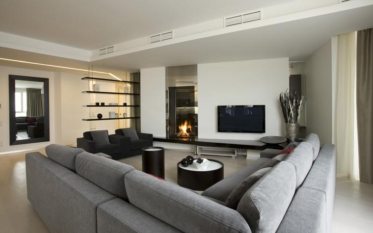 интерьер гостиной - фото № 5025
