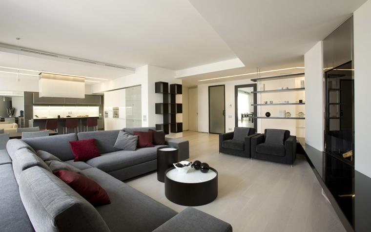 интерьер гостиной - фото № 5027