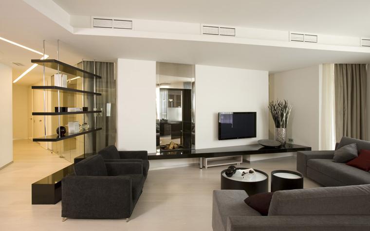 интерьер гостиной - фото № 5032