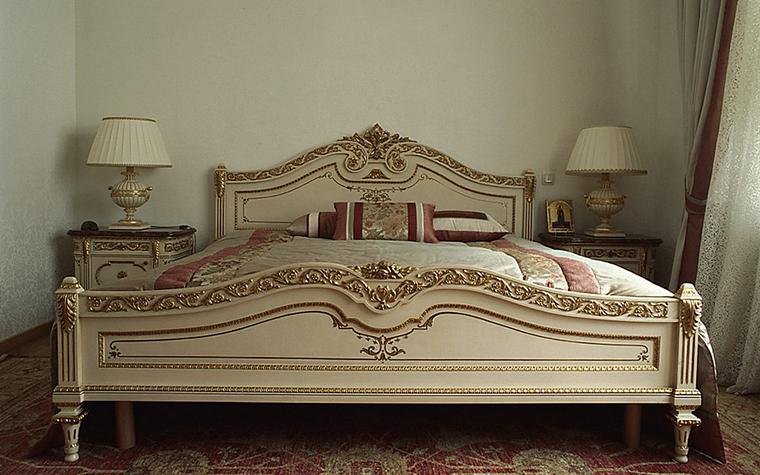 Квартира. спальня из проекта , фото №9706