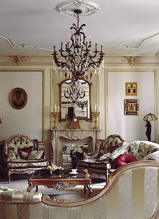 интерьер гостиной - фото № 9701