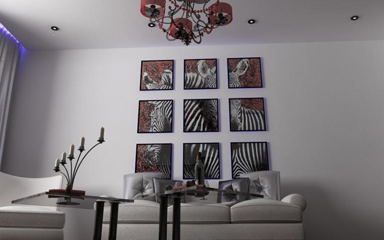 интерьер гостиной - фото № 6127