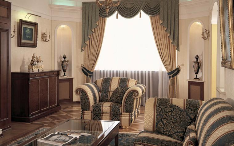 интерьер гостиной - фото № 3443