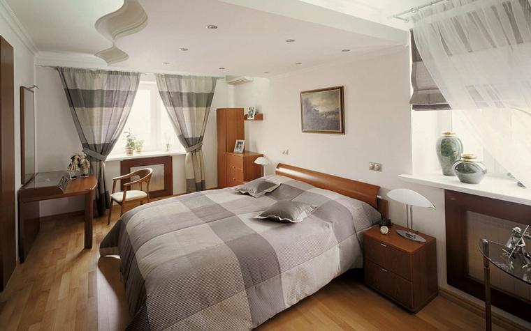 Фото № 3617 спальня  Квартира