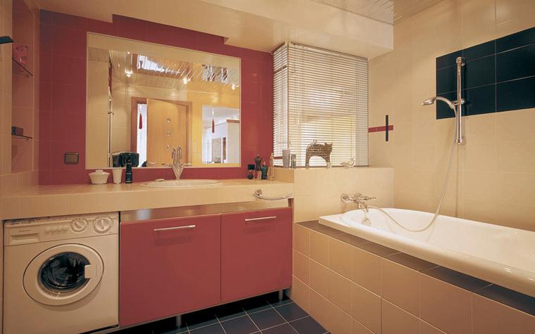 интерьер ванной - фото № 6117