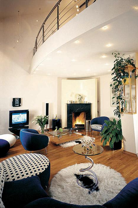 интерьер гостиной - фото № 3761