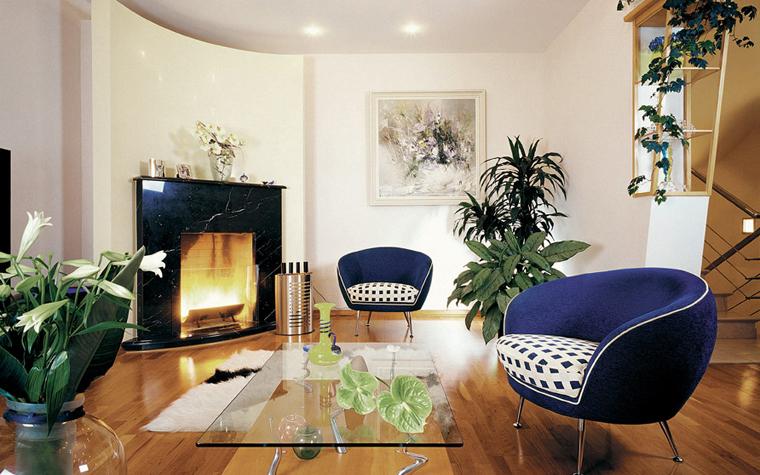 Квартира. гостиная из проекта , фото №3762