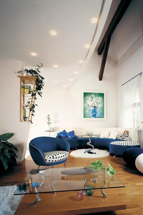 интерьер гостиной - фото № 3763