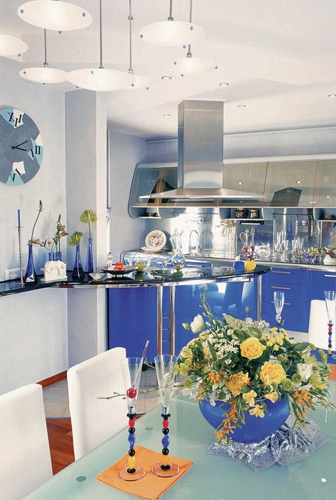 Квартира. кухня из проекта , фото №3767