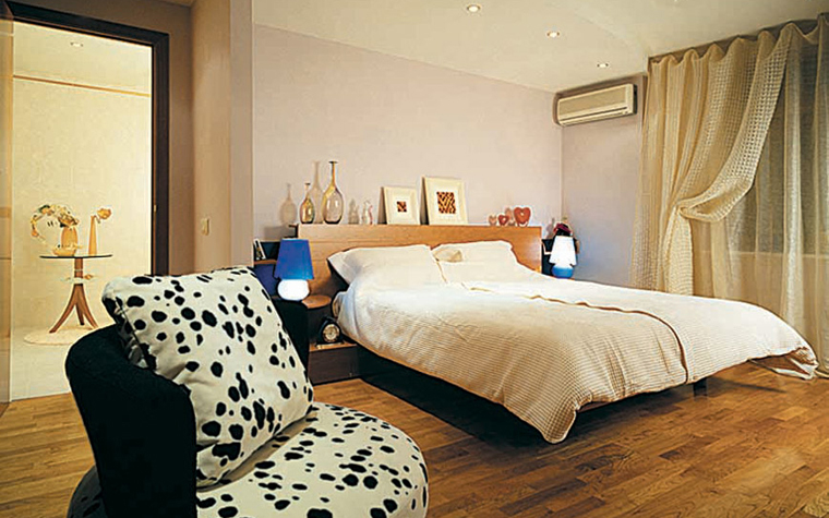 Квартира. спальня из проекта , фото №3764