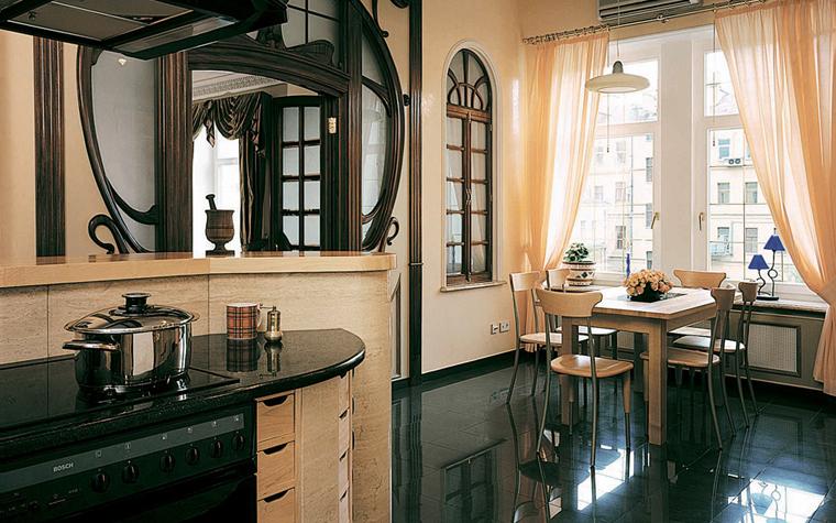 Квартира. кухня из проекта , фото №3674
