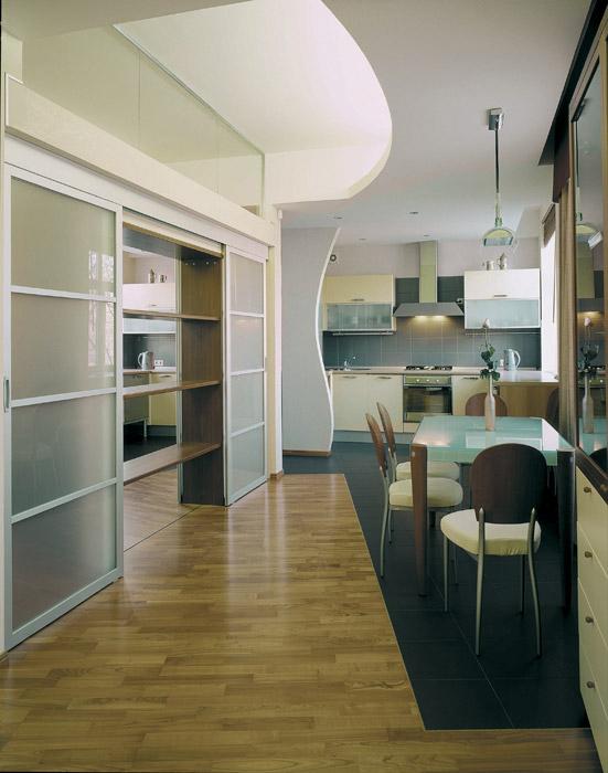 Квартира. кухня из проекта , фото №3693
