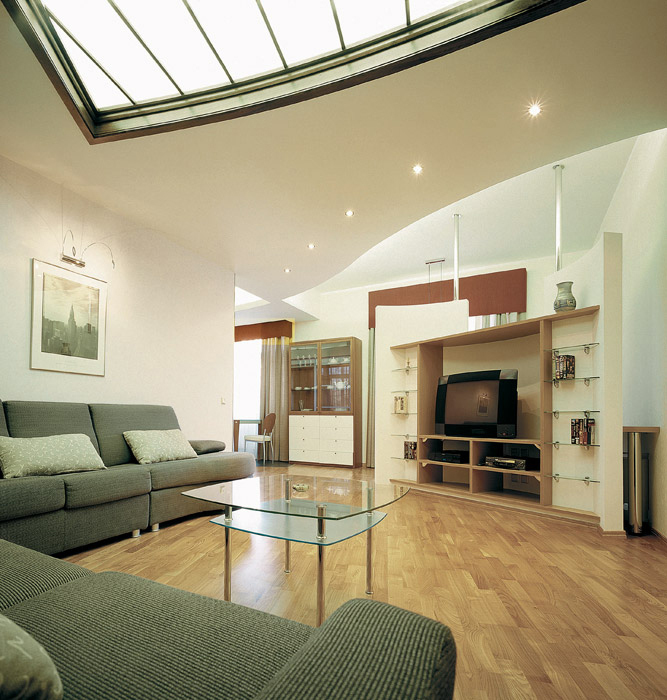 Квартира. гостиная из проекта , фото №3696