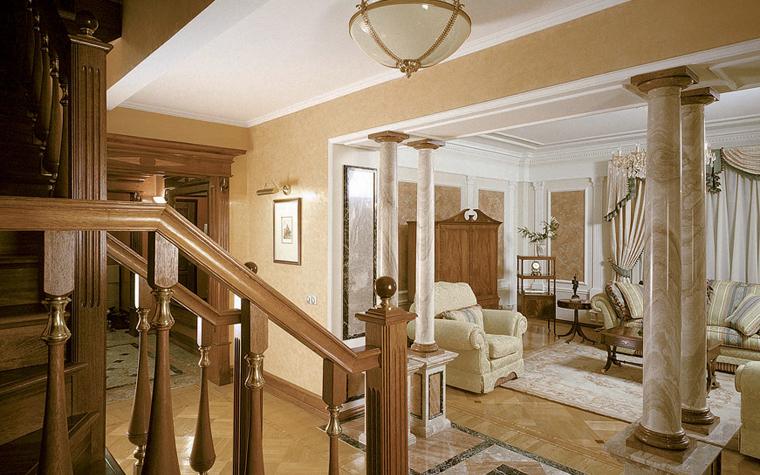 интерьер гостиной - фото № 3719