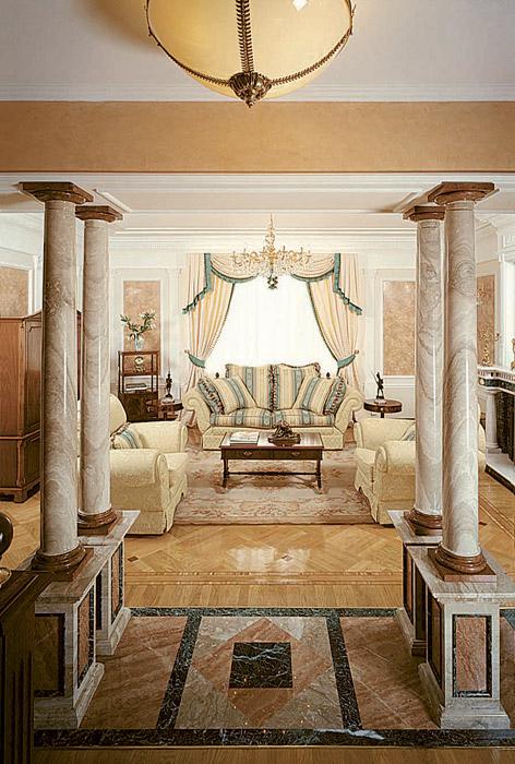 интерьер гостиной - фото № 3706