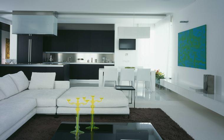 Квартира. гостиная из проекта , фото №5842