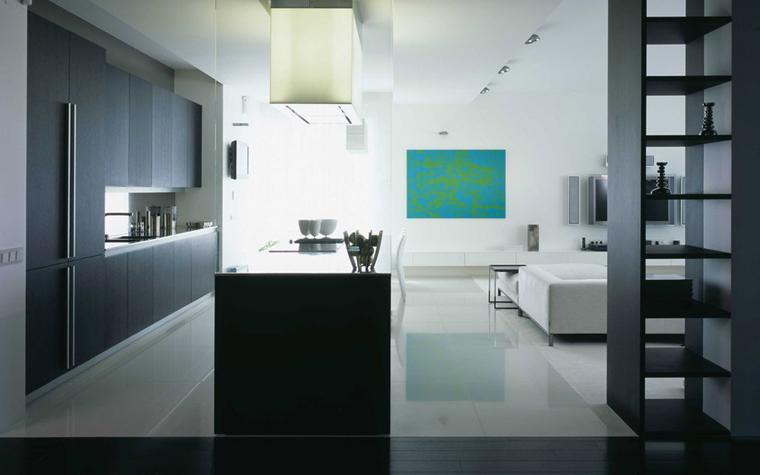 Квартира. кухня из проекта , фото №5852