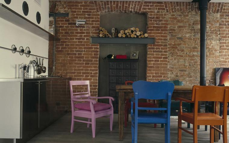 Квартира. кухня из проекта , фото №5855