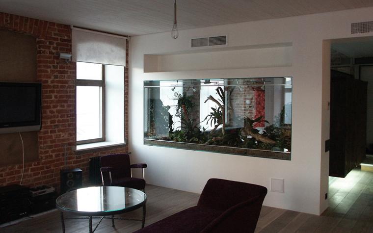 Квартира. гостиная из проекта , фото №6562