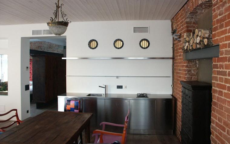Квартира. кухня из проекта , фото №6564