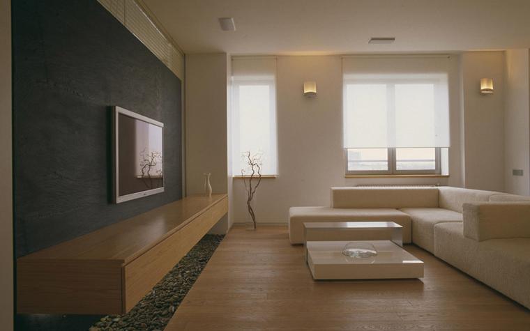интерьер гостиной - фото № 5856