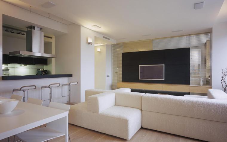 Квартира. гостиная из проекта , фото №5857
