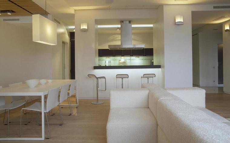 Квартира. столовая из проекта , фото №5859
