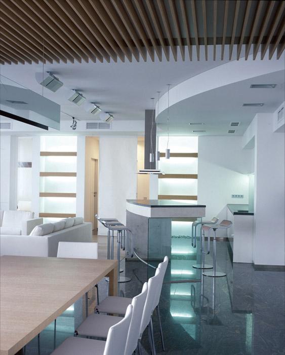 Квартира. кухня из проекта , фото №5869