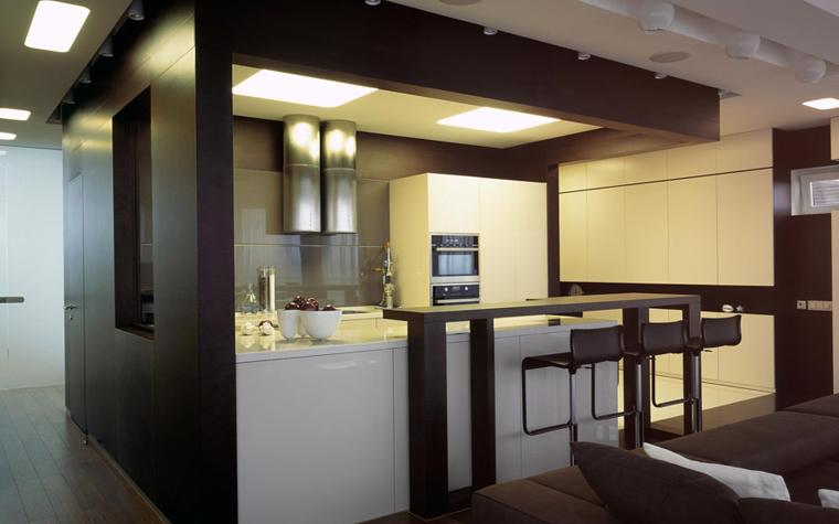 Квартира. кухня из проекта , фото №5888
