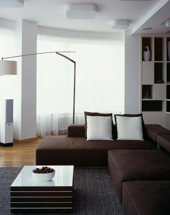 интерьер гостиной - фото № 5886