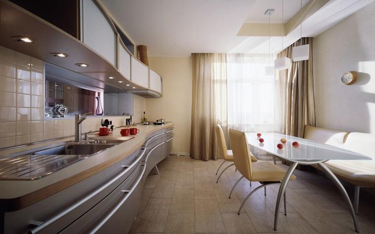 Квартира. кухня из проекта , фото №5570