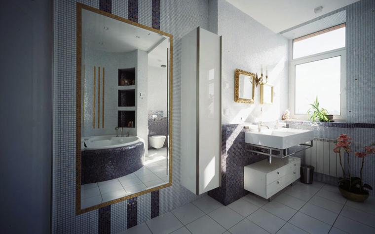 Квартира. ванная из проекта , фото №6118
