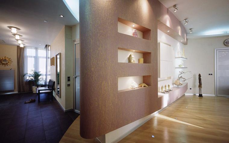интерьер гостиной - фото № 6123