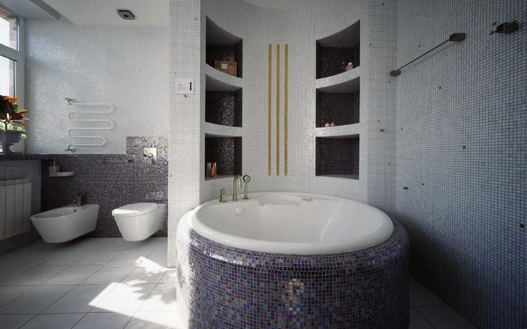 Квартира. ванная из проекта , фото №6119