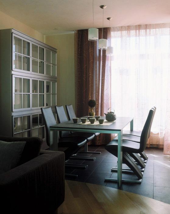 Квартира. столовая из проекта , фото №5578