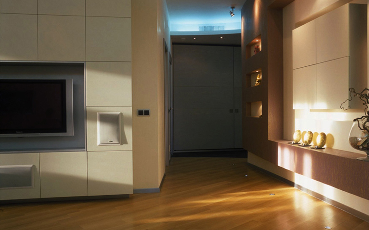 Квартира. гостиная из проекта , фото №5566