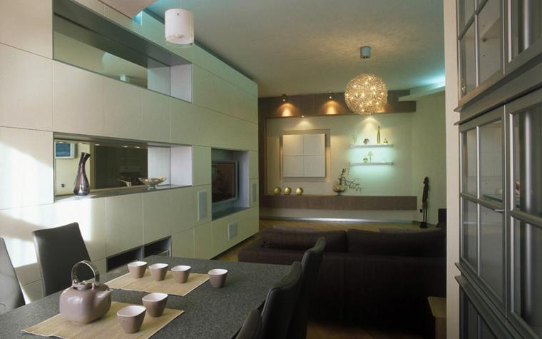 Квартира. столовая из проекта , фото №5580