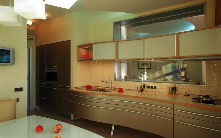Квартира. кухня из проекта , фото №5571