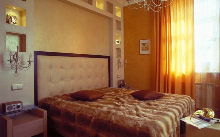 интерьер спальни - фото № 6121