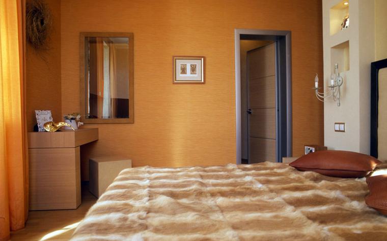 интерьер спальни - фото № 5576