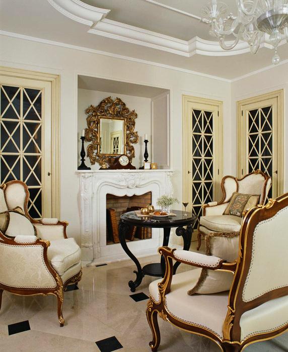 интерьер гостиной - фото № 5691