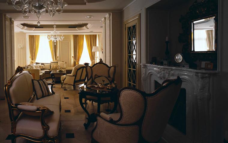 интерьер гостиной - фото № 5693