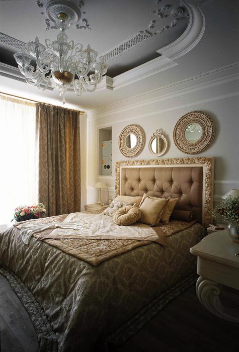 Квартира. спальня из проекта , фото №5701