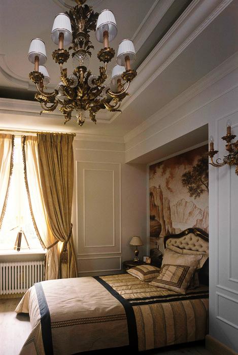 интерьер спальни - фото № 5702