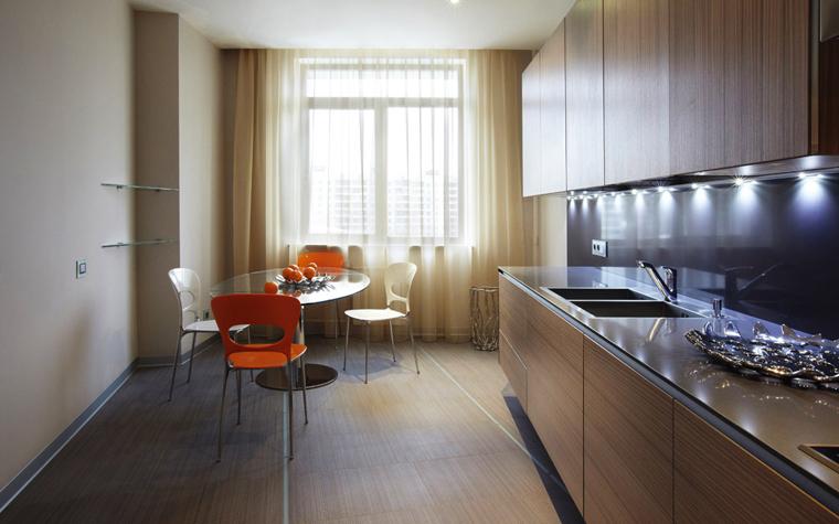 Квартира. кухня из проекта , фото №5659
