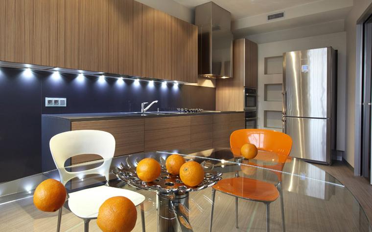 Квартира. кухня из проекта , фото №5661