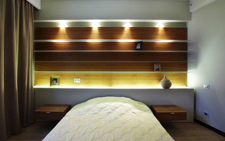 Квартира. спальня из проекта , фото №5669