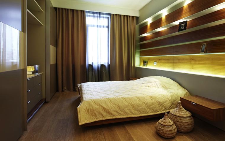 Квартира. спальня из проекта , фото №5670