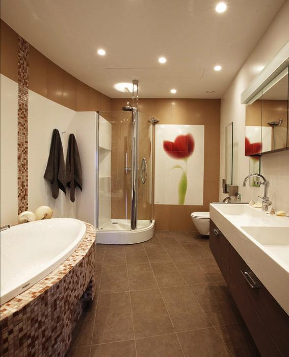 Квартира. ванная из проекта , фото №5676